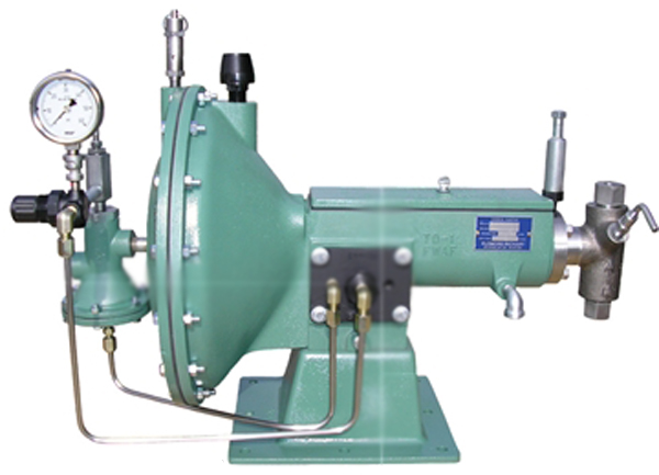 Flomore 5020 series chemical injector pump.