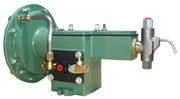 Flomore 5200 series chemical injector pump.